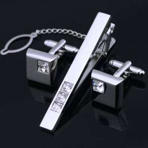 Cuff Links Tie Clips